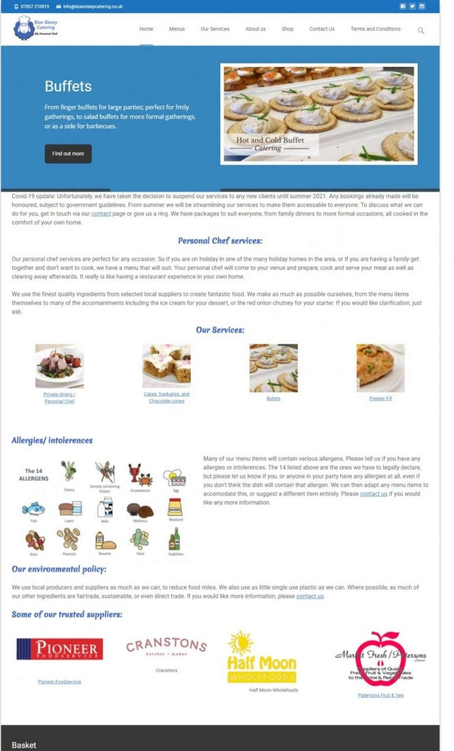 Blue Sheep Catering