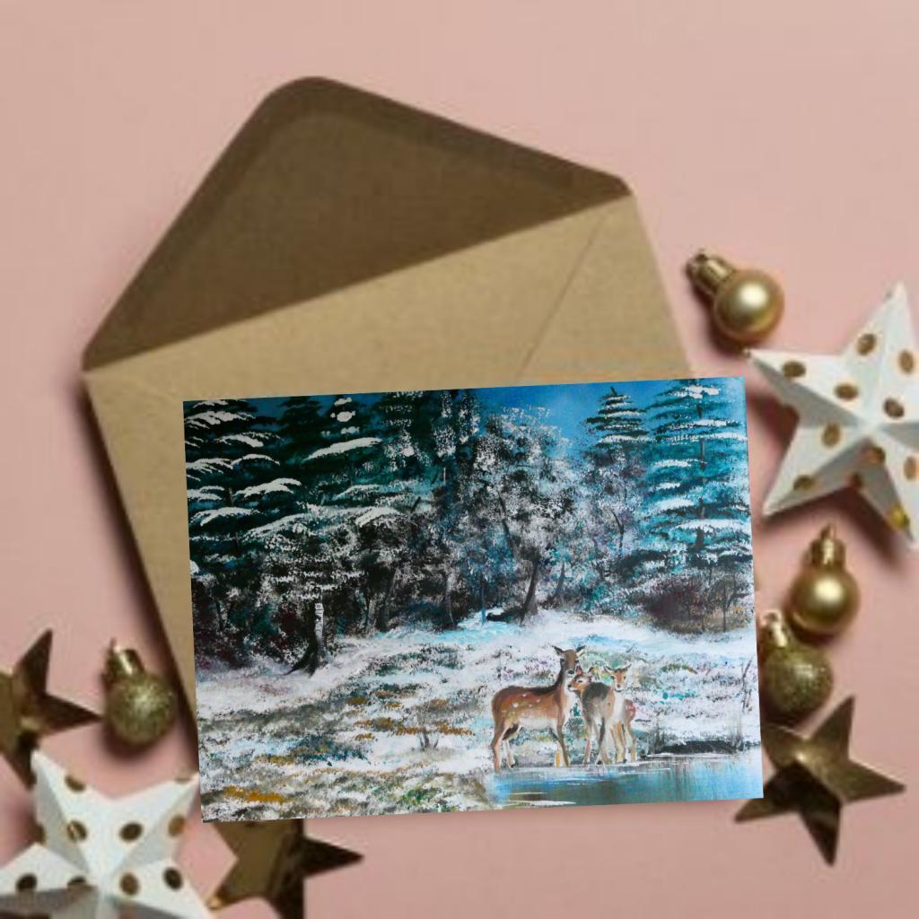 UK Christmas Card Handwriting Service Cumbria